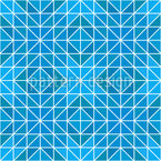 Frozen Geometry Repeat Pattern