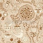 Russische Schokolade Muster Design