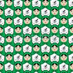 Matryoshka Armee Nahtloses Vektor Muster