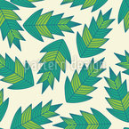 Jungle Leaf Vector Pattern