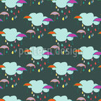 Raindance Seamless Vector Pattern Design