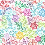 The Floral Delights Of Summer Pattern Design