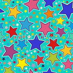 Lucky Star Pattern Design