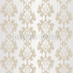 Shimmering Baroque Seamless Vector Pattern Design