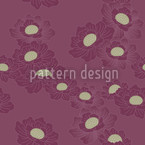 Peonies Seamless Vector Pattern Design