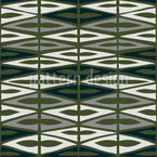 Chequered Garden Green Repeat Pattern