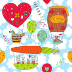 Honeypennies Balloon Trip Pattern Design