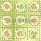 Maki Green Pattern Design