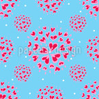 Love Burst Vector Design