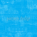 Transportation blueprint Repeat Pattern