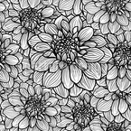 Remember The Dahlias Seamless Vector Pattern Design