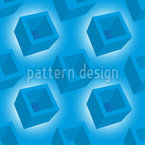 Blue Box Pattern Design