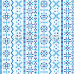 Northland Embroidery Seamless Vector Pattern Design
