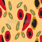 Spanische Lakritze Muster Design