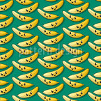 Happy Banana Musterdesign