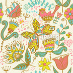 If Katja Dreams Seamless Vector Pattern Design