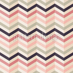Chevron Blush Seamless Vector Pattern Design