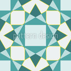 Winter Gems Vector Pattern