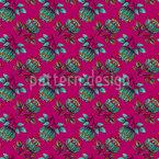 Persische Blumenpracht Muster Design