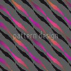 Caminhada Zebra Design de padrão vetorial sem costura