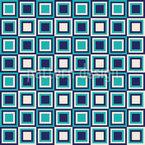 Retro Quadrate Sind Cool Nahtloses Vektormuster