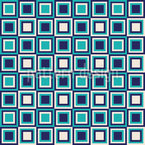 Retro Squares Are Cool Repeat Pattern