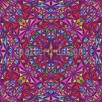 Kaleidoskop Der Farben Nahtloses Vektormuster