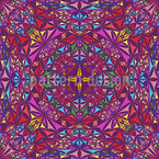 The Kaleidoscope Of Colors Seamless Vector Pattern Design