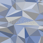 Iceberg Geometry Seamless Vector Pattern Design
