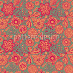 Butterfly Fantasies Seamless Vector Pattern Design