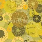 Schönste Floral Visionen Nahtloses Vektormuster