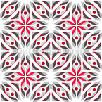 Poinsettia Fantasy Repeat Pattern