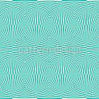 Kühle Fächer Dimension Vektor Muster
