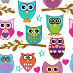 The Big Owl Assembly Repeat Pattern