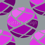 Bandage Balls Seamless Vector Pattern Design