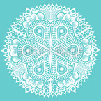 Lace In Winter Vector Design