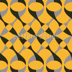 Retro Connection Seamless Pattern