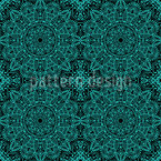 Mystic Mandala Seamless Vector Pattern Design