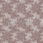 Silk Flowers Seamless Vector Pattern Design