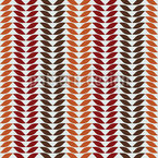 Simple Autumn Leaf Repeating Pattern