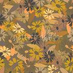 Wild Daisies Grow Pattern Design