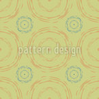 Echo Circles Seamless Vector Pattern Design