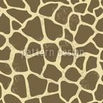 Giraffe Im Sand Nahtloses Vektormuster