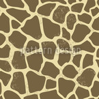 Giraffe Seamless Vector Pattern Design