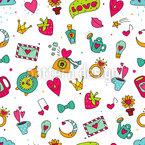 Süße Kleinigkeiten Der Liebe Vektor Design