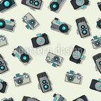 Vintage Camera Repeat Pattern