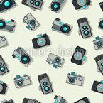 Vintage Kamera Rapportmuster