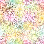 Korallen Sterne Nahtloses Vektormuster