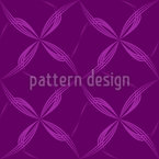Fence Floral Seamless Vector Pattern Design
