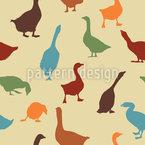 Gabbling Goose Vector Pattern